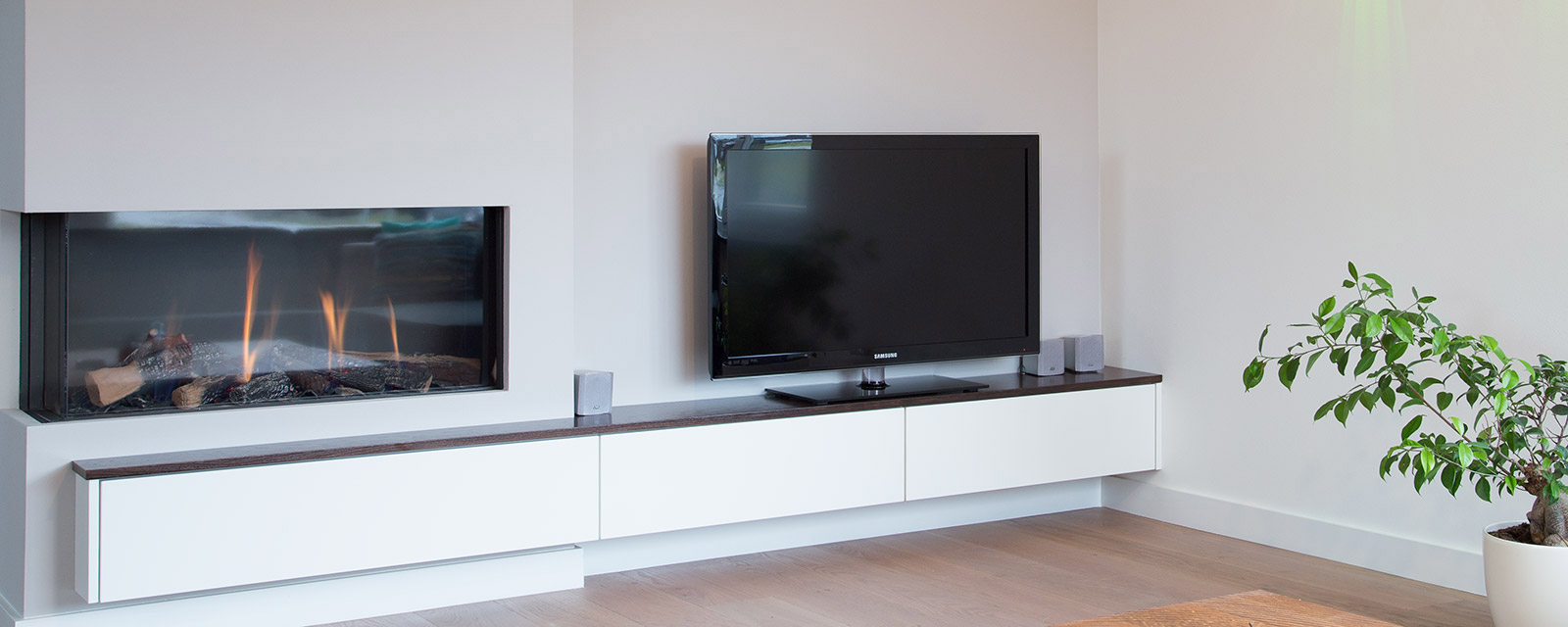 Woonkamer Muur Tv