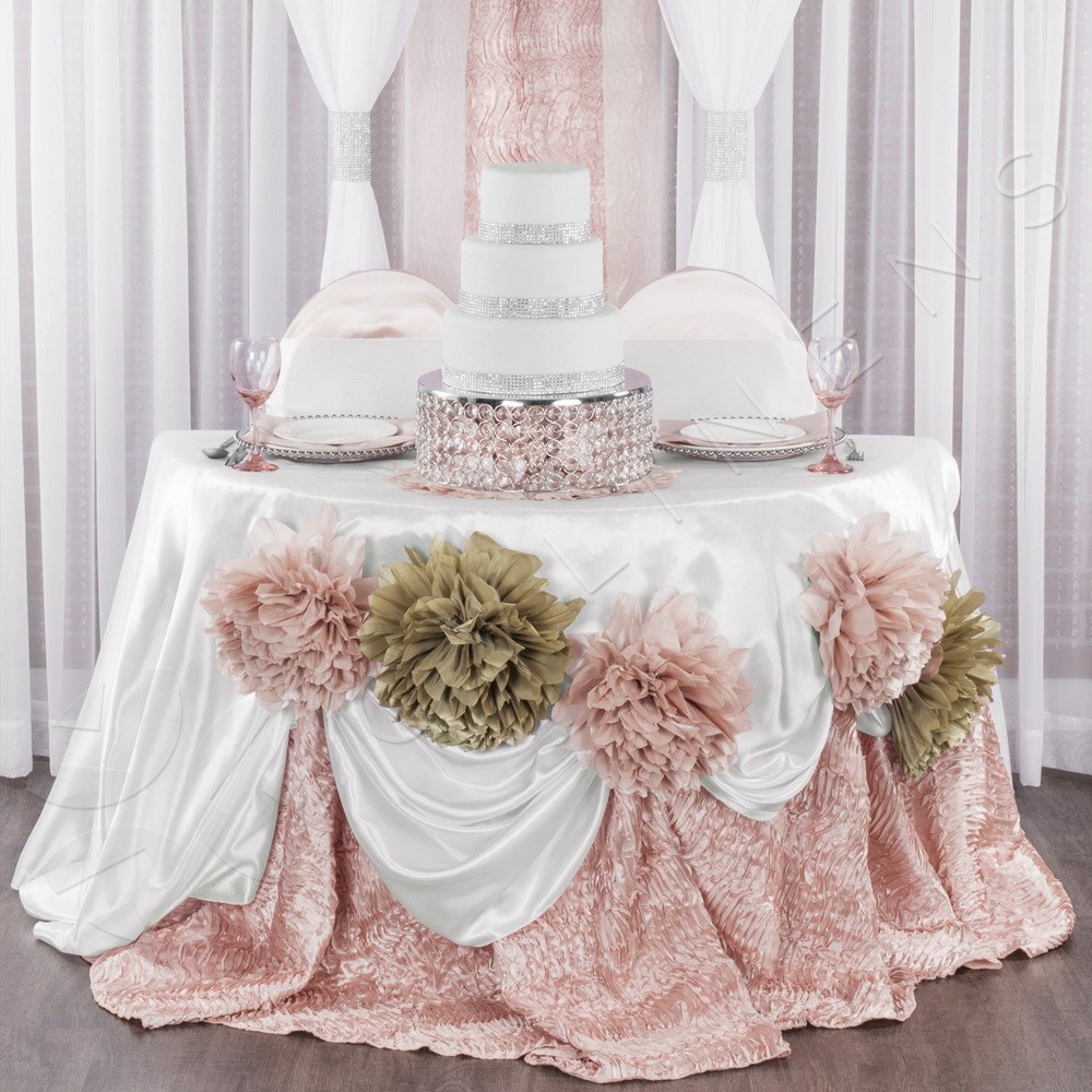 chair covers rose gold gym chairs cost universal satin self tie cover blush at cv linens