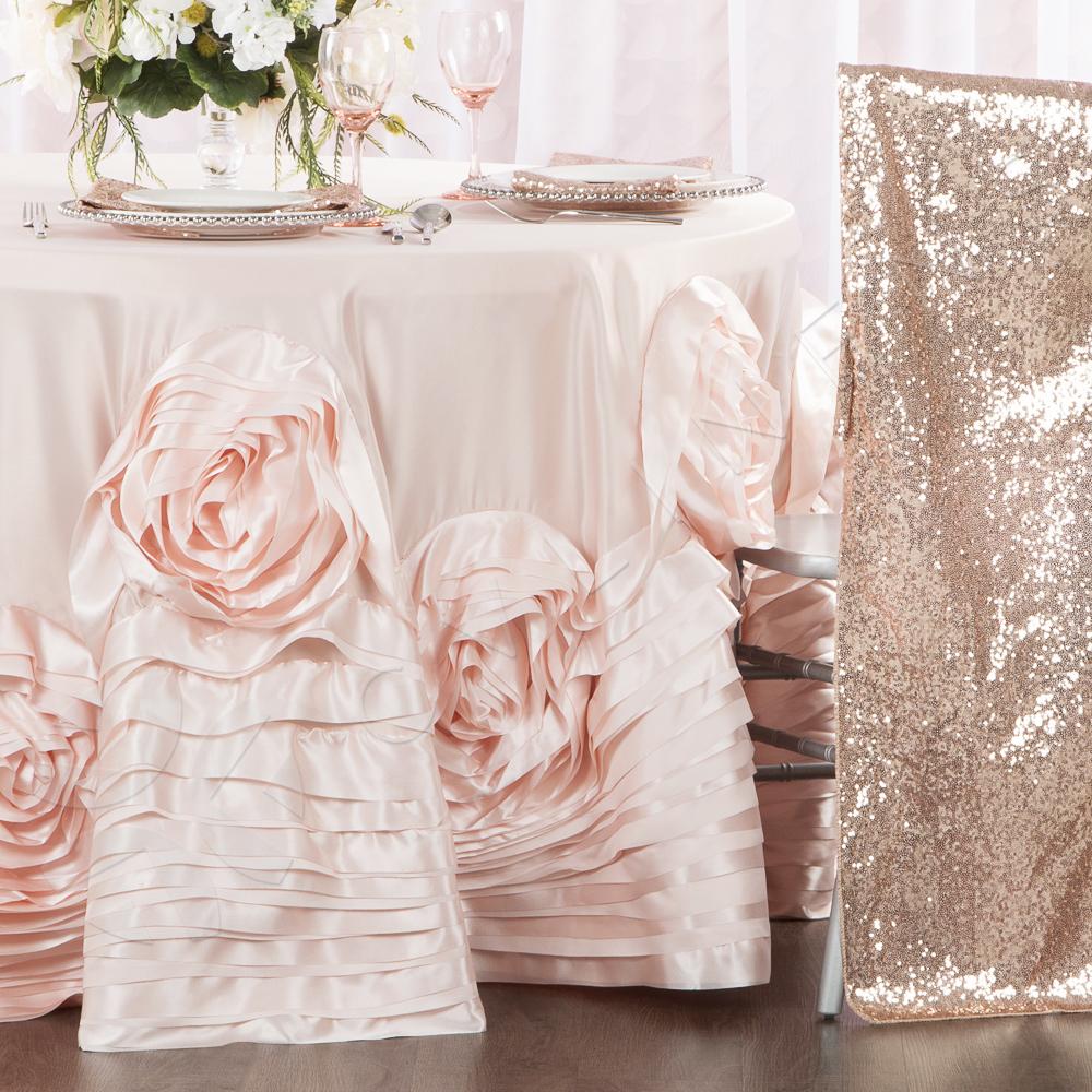 chair covers rose gold toddler seat belt glitz sequin full back cover blush cv linens chiavari