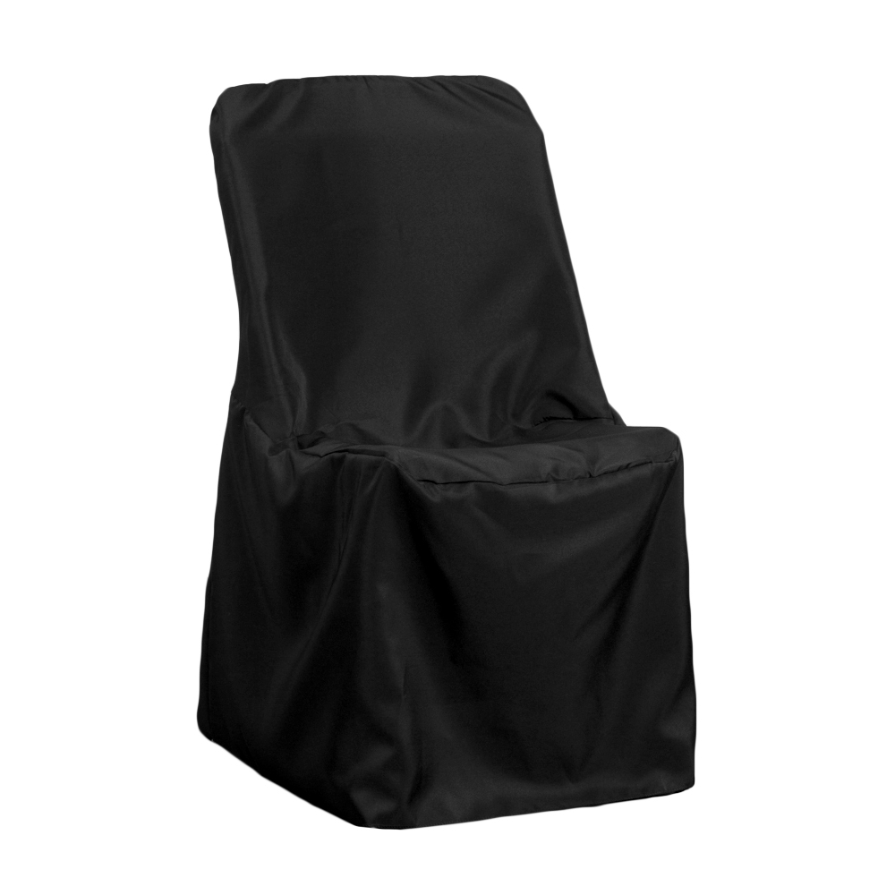black lifetime chair covers for stairs elderly contemporary folding cover at cv linens