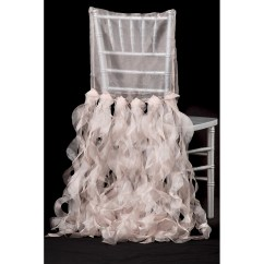 Chair Covers Rose Gold Patterned Recliner Chairs Curly Willow Chiavari Back Slip Cover Blush Cv