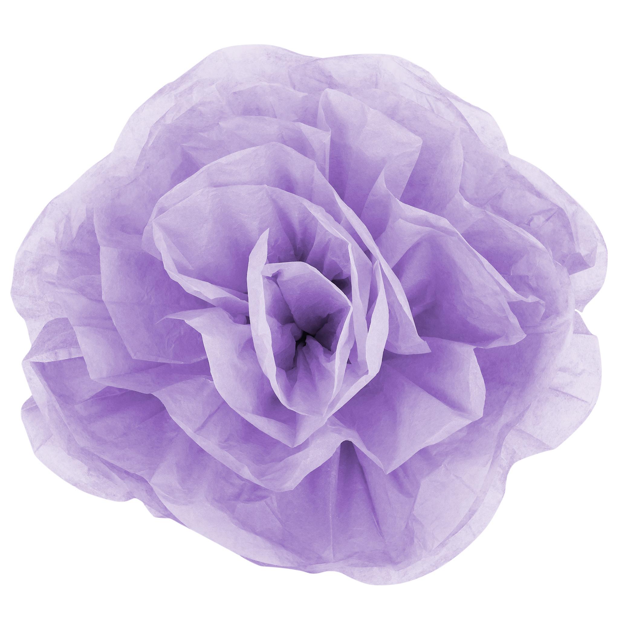 large paper rose flower