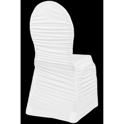 Black Banquet Chair Covers For Sale Big Man Chairs Ruched Fashion Spandex Cover White Cv Linens