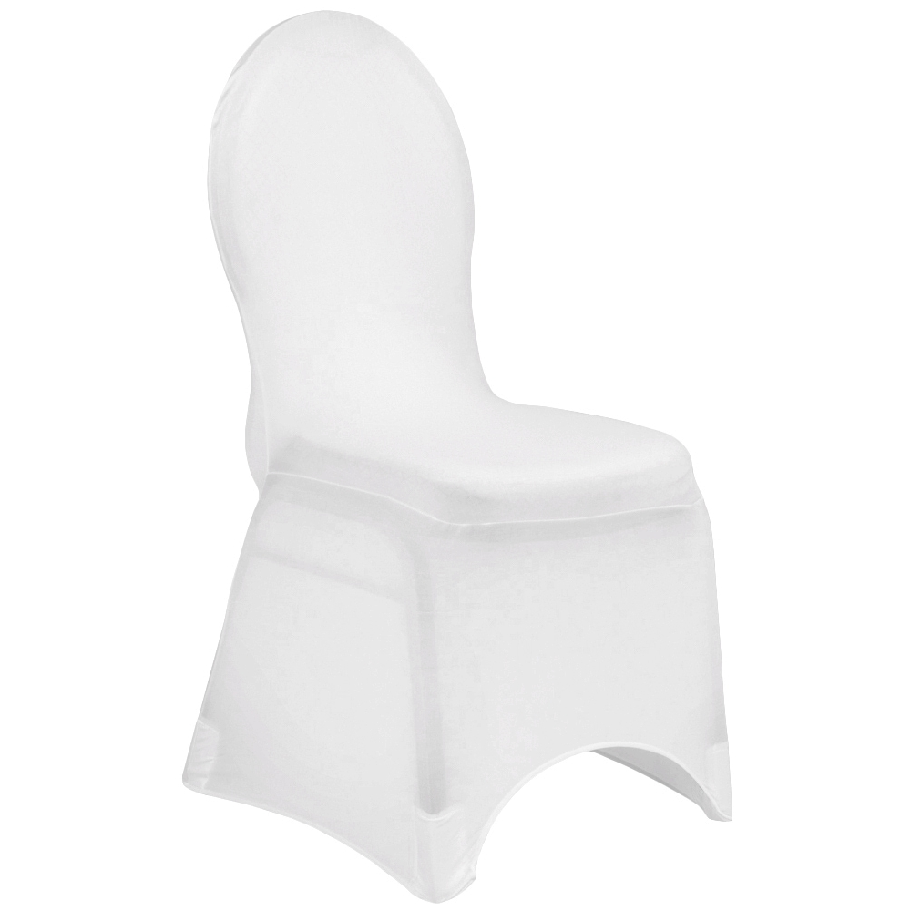 cheap white chair covers how much fabric do i need for a spandex banquet cover at cv linens