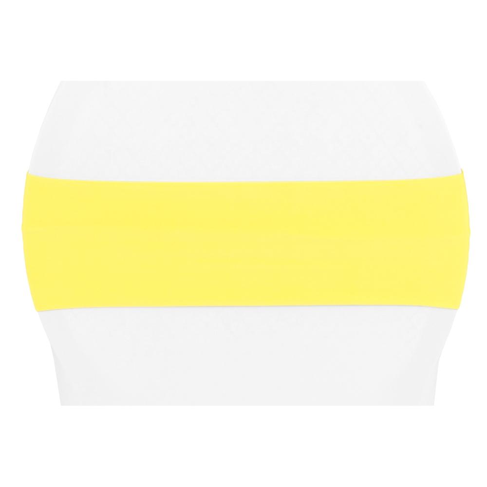 yellow spandex chair sashes lexmod focus edge desk band bright cv linens
