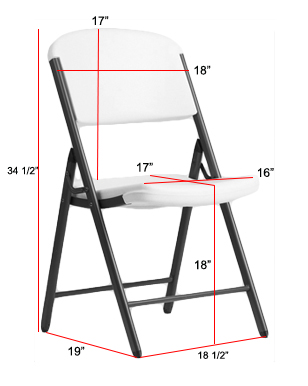 lifetime chair covers ivory outdoor cushions at lowes folding sizes dimensions bar cover light off white cv linens