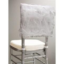 Chair Caps Covers 3 In 1 High Chairs Swirl Chiavari Cap White Cv Linens