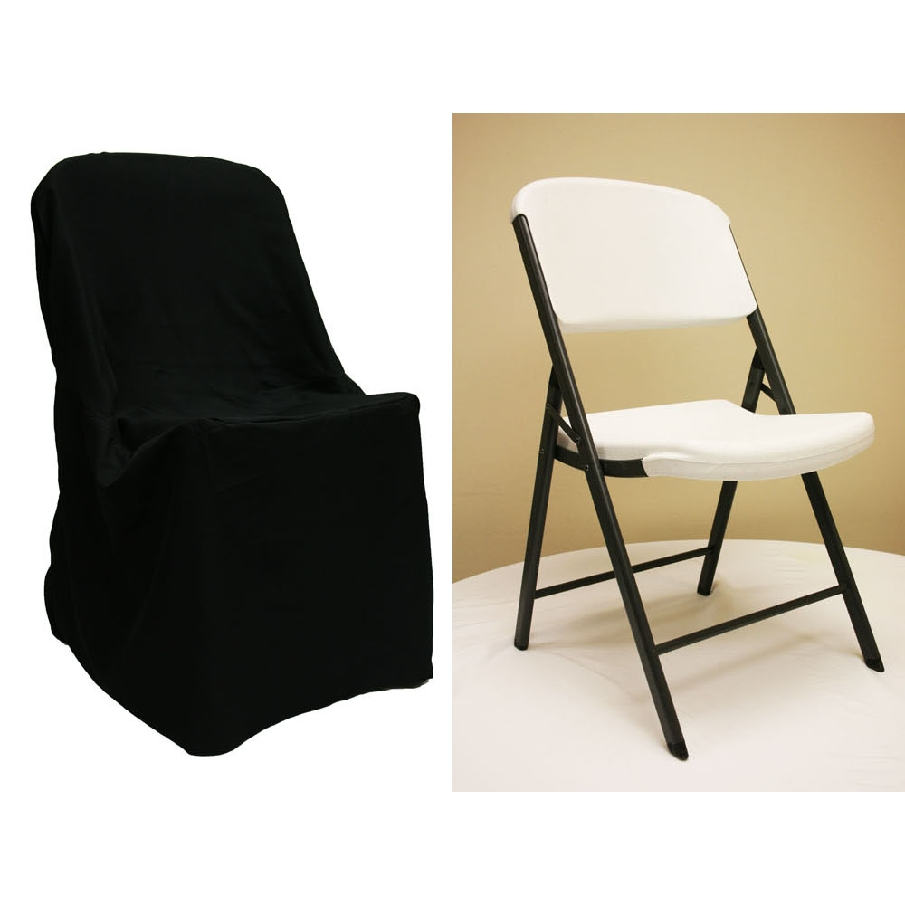 chair covers for folding chairs near me accent lounge lifetime cover black at cv linens