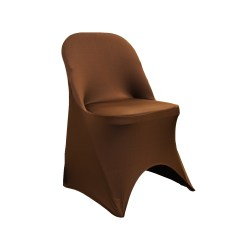 Stretch Chair Covers Dining Room Chairs Upholstered Folding Spandex Cover Chocolate Brown At Cv Linens