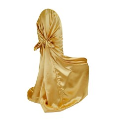 Chair Covers Universal Pool Lounge Chairs Costco Satin Self Tie Cover Bright Gold At Cv Linens Deal Of The Week Ends