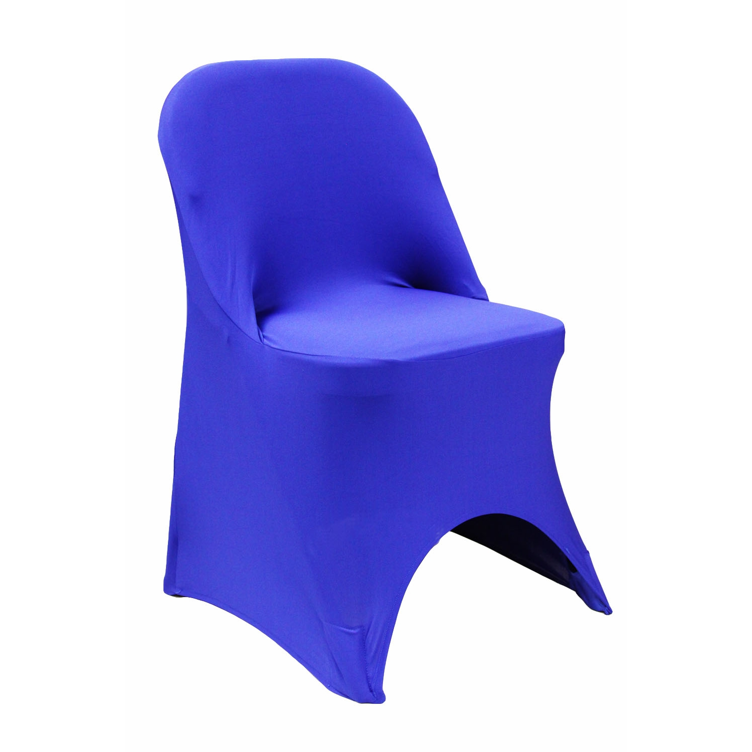 royal blue chairs eames 670 lounge chair folding spandex cover at cv linens