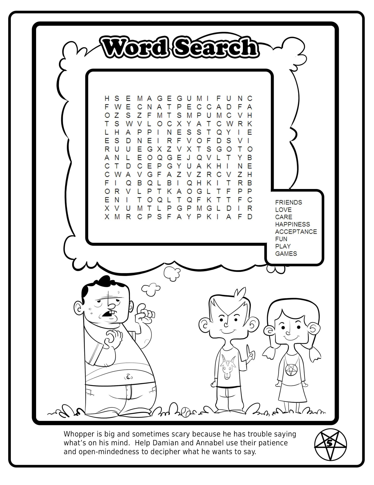 Judge Not Lest You Be Judged Will The Satanic Children S Activity Book Be Banned From Florida