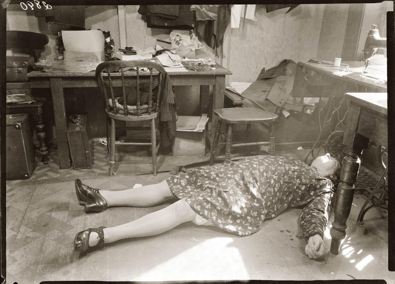 NSFW Vintage Scene of Crime Photos  CVLT Nation