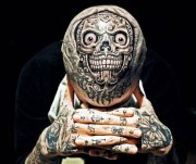 fuck yeah head tattoos and