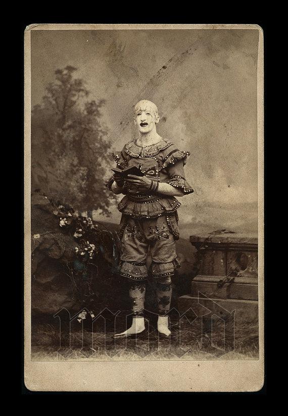 Vintage Photos of Creepy Clowns  CVLT Nation