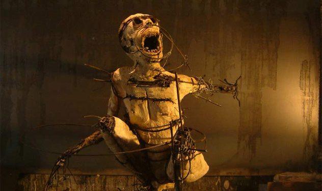 Mummified Torture Victims Olivier de Sagazan