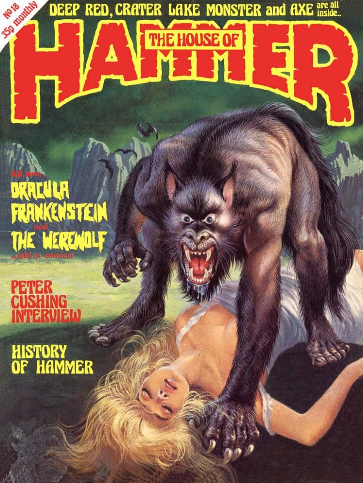 The Unbelievable Horror Art of The House Of Hammer