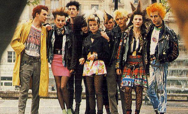 PORTRAITS OF 80S FRENCH PUNK CULTURE  CVLT Nation