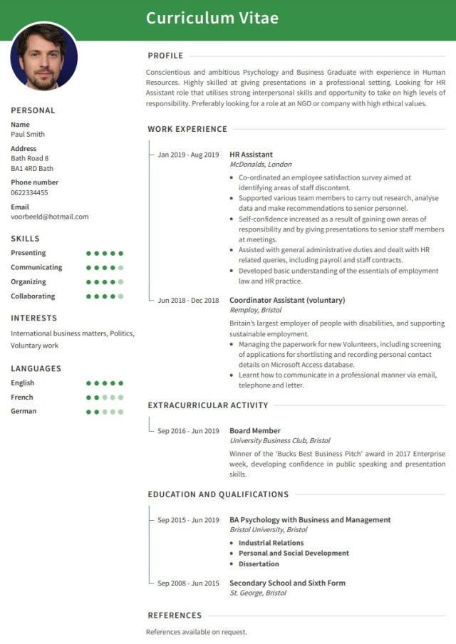 How to write a killer student cv? The best tips to get you hired