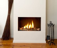 NATURAL GAS FIREPLACE FLUE  Fireplaces