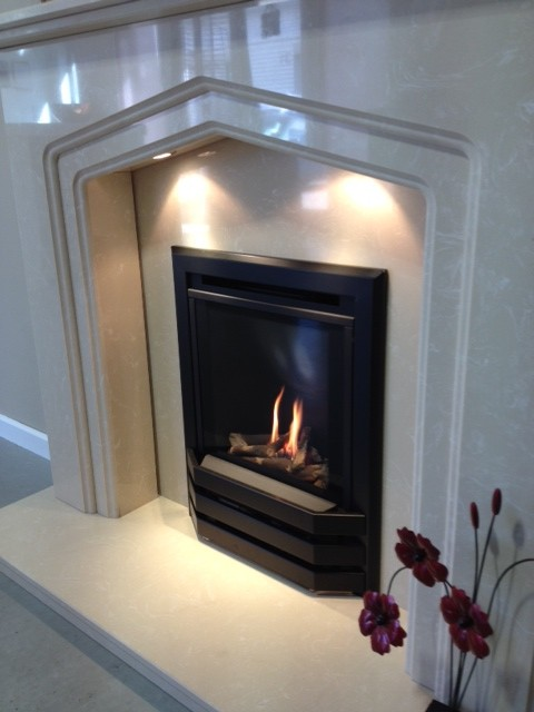 BAILEY High Efficiency Inset Gas Fire, Glass Fronted Fireplace – Image Gallery