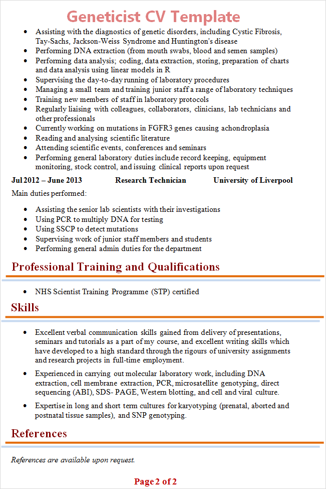 geneticistcvtemplate2