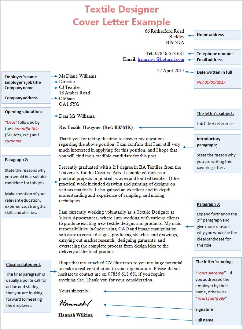 how to make cover letter for internship
