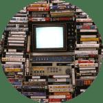 CV Origin timeline VHS portfolio
