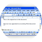 CV Origin timeline Microsoft Word