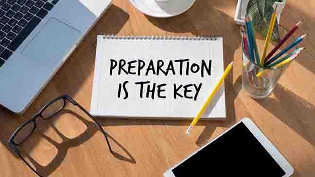 prepare cover letter