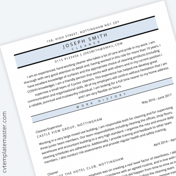 A letter of introduction is a formal letter used to introduce a party or a company to another. 229 Free Professional Microsoft Word Cv Templates To Download No Signup