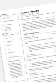 CV templates, résumé templates and guides - How to write a CV