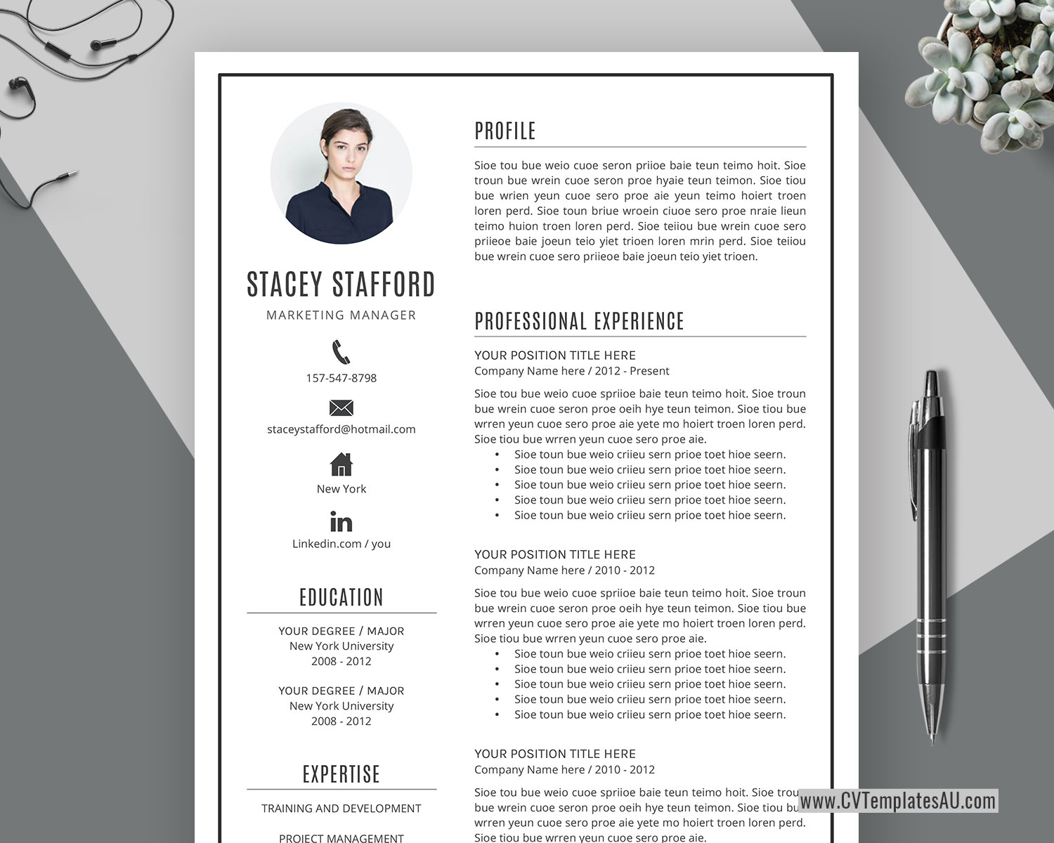 Professional CV Template for Microsoft Word. Cover Letter. Modern Curriculum Vitae. Creative Resume Design. Teacher Resume. 1 Page. 2 Page. 3 Page ...