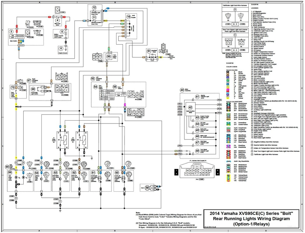2014 Yamaha Bolt Wiring Diagram : 31 Wiring Diagram Images