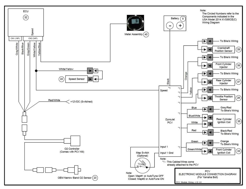XVS95CE Diagrams Cvvmax's Garage