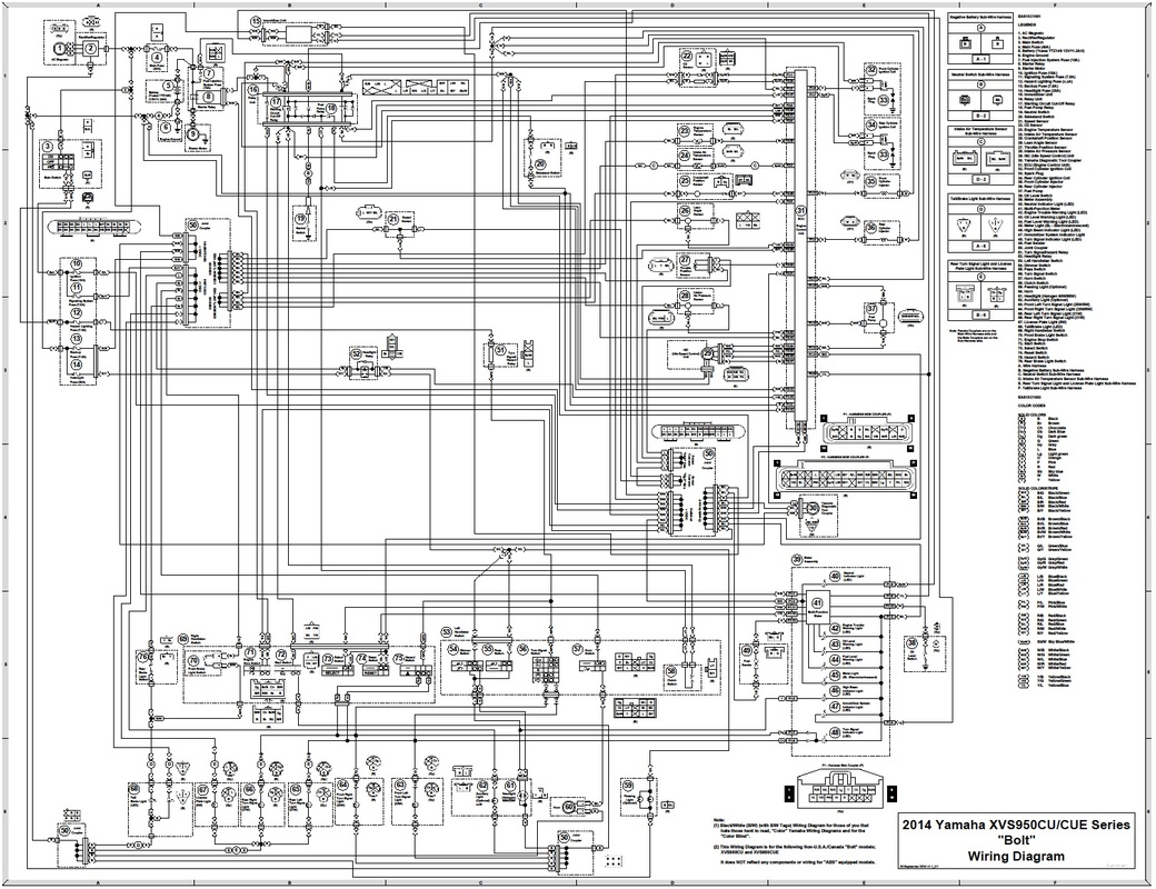yamaha v star 1100 wiring diagram lights