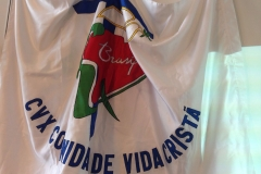 bandeira cvx brasil stand