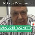 Nota de Falecimento: Adriano José Vaz Netto