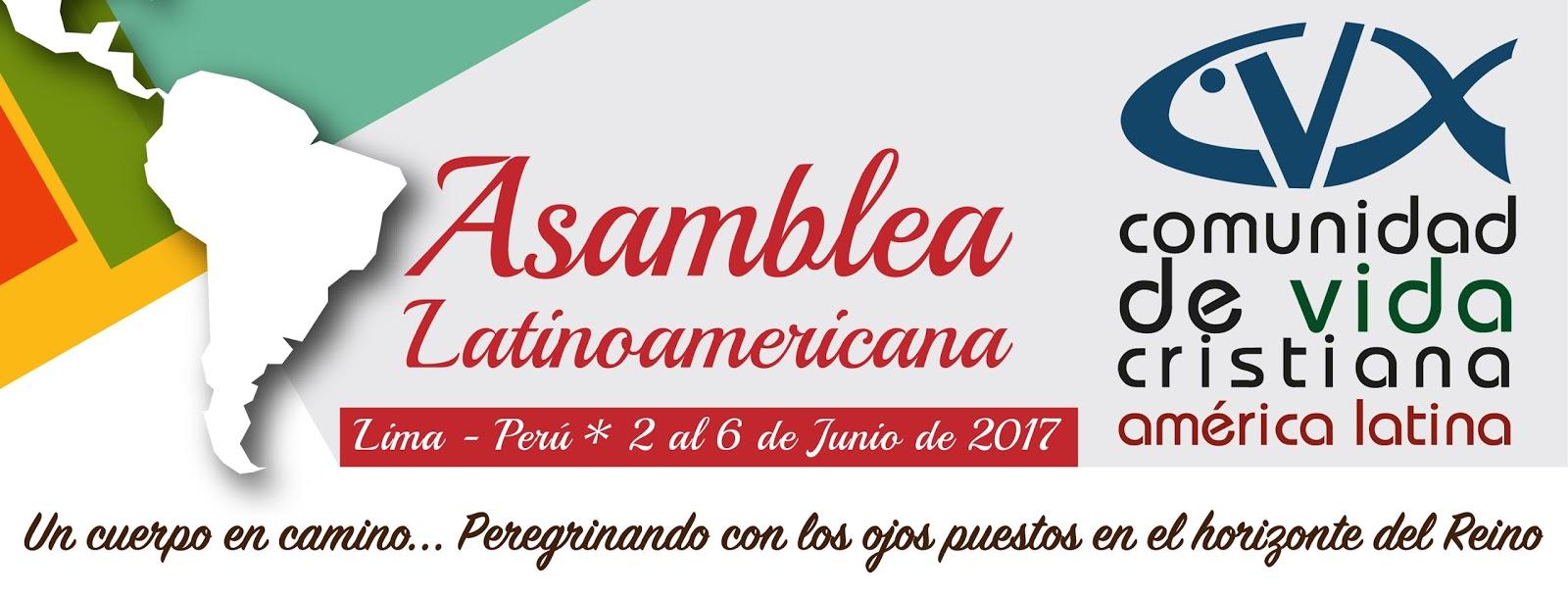 Assembleia Latinoamericana da CVX - Junho 2017