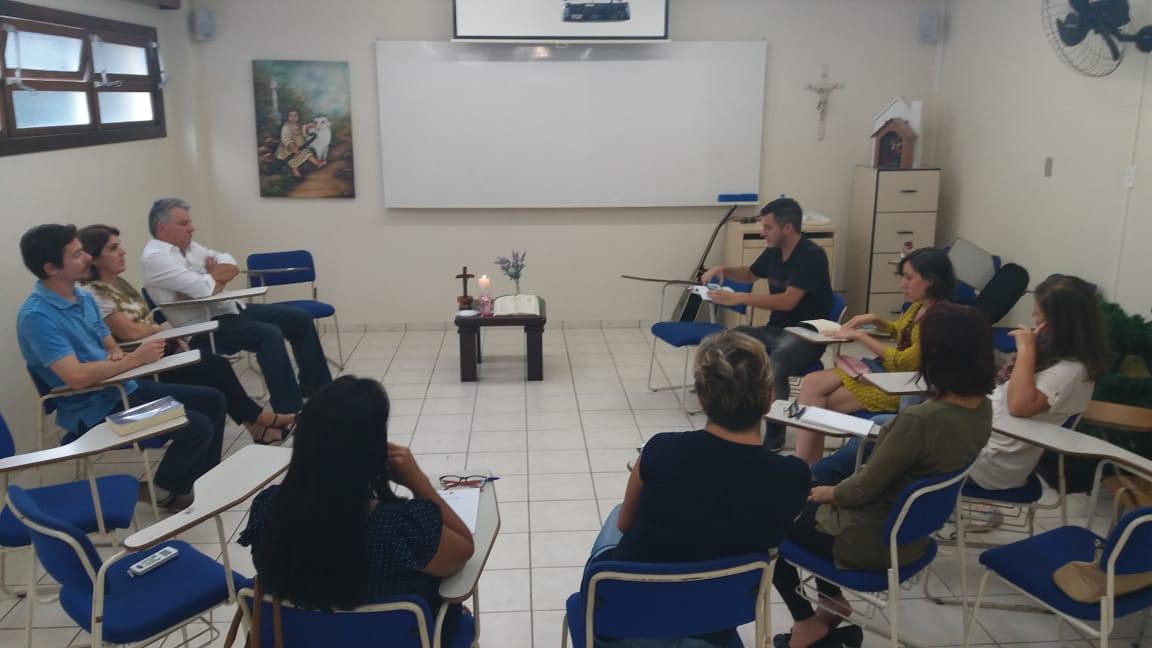 CVX Sul realiza formação em Florianópolis sobre o Ano do Laicato