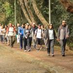 Trilha Inaciana percorre parques de Curitiba celebrando a eucaristia