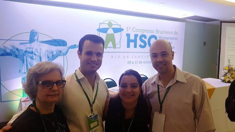 Partilha sobre o Congresso Brasileiro de Humanismo Solidário na Ciência