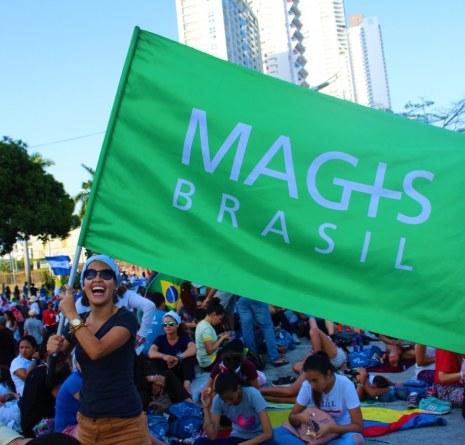 Partilha de Maria Clara, enviada da CVX Brasil ao Magis Centroamérica e JMJ 2019