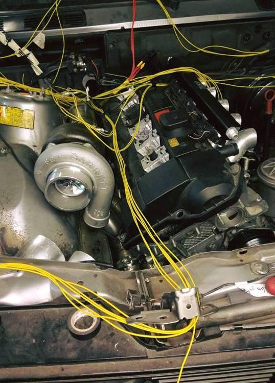 BMW E30 Turbo CWR