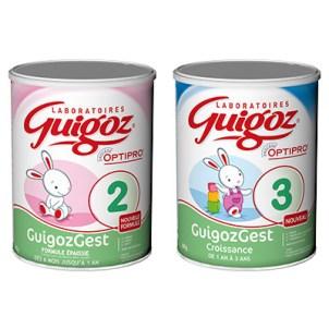 GUIGOZ – GuigozGest 2 ou Croissance 1,90 € DE RÉDUCTION