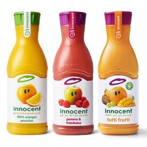 innocent – jus de fruits frais 0,40 € DE RÉDUCTION