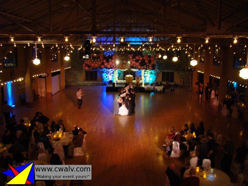 Rothschild Pavilion Central Wisconsin Audio Lights