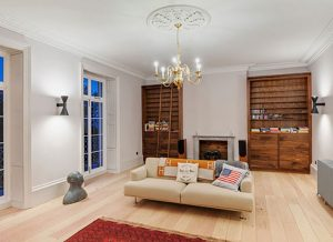 Renovated listed property in Exeter