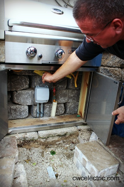 Outdoor Living Space Electrical Wiring in Topeka Kansas
