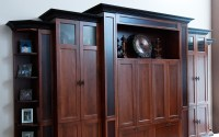Entertainment Centers - Custom Wood Creations